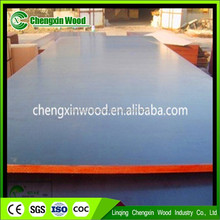 Hot sale construction Two Time Press Hardwood Core Construction Film Faced Plywood Different types of film faced plywood &commer