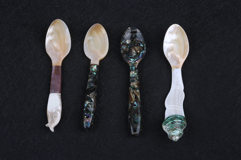 affordable cheap mother of pearl shell caviar spoon