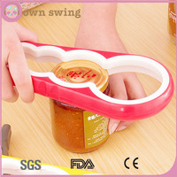 4 in 1 Multi-function Jars/Bottles/Can Openers Kitchen Tool versatile bottle openers four opener can opener kitchen dining