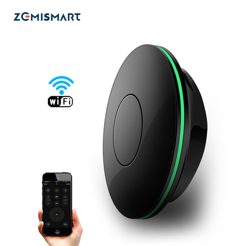 Zemismart IR Bridge Control Air-condition TV For Smart Life App Google Home Alexa Universal Remote Control
