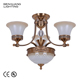 Mobile Minimalistic Metal Chain Locker Lighting Egyptian Crystal Chandelier