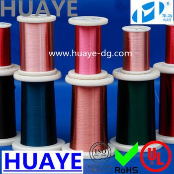 High Quality Ul Awg 32 Gauge Polyurethane Colored Enamel Coated ...