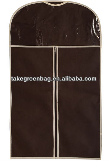 promation garment cover with pvc