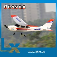 Cessna mini indoor rc kids toy airplane