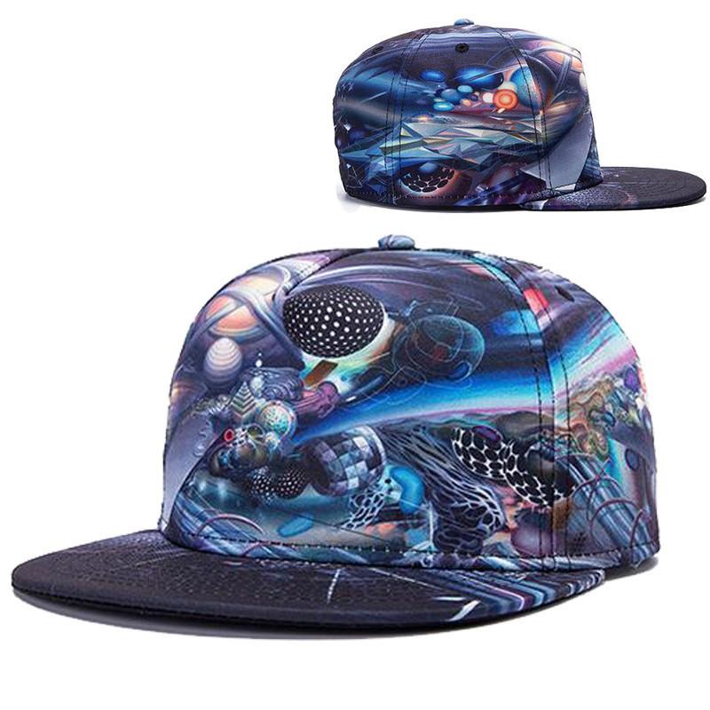 98736b2b53d Get Quotations · Alisister new fashion 2015 women men snapback baseball caps  cartoon galaxy cap Casual 3d snapback