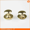 Suitcase parts brass rivet magnetic button for bags and wallets