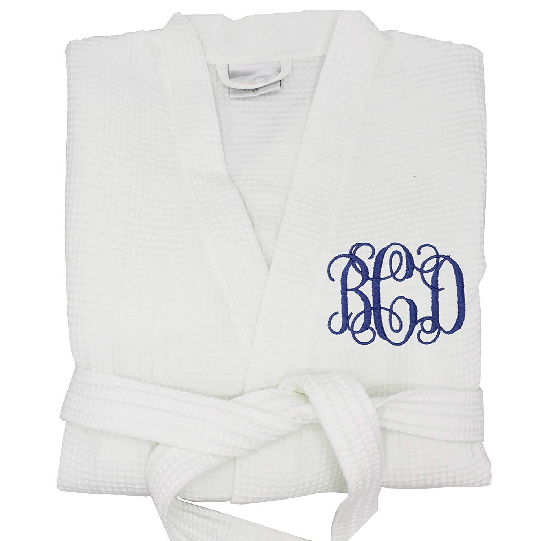 Get Quotations · Personalized Waffle Bridesmaid Kimono Robe Gift - Wedding  Bridal Party Robes - Women s Bathrobe - Custom 95e0ecbc5