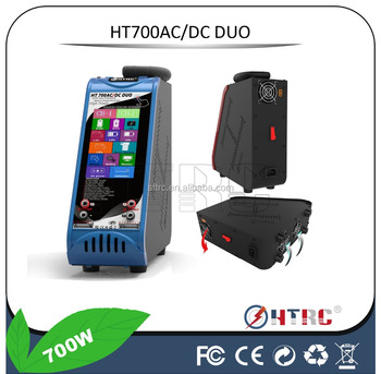 Touch Screen HD , PB battery charger Pro 12V DC 8S 20A 700W Duo Charger