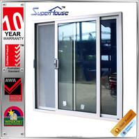 Australia standard double glazed aluminium sliding side opening door