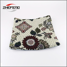 Knitted large textile embroidered 40 bench seat chair outdoor wholesale cushion for outdoor patio furniture