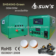 solar PV combiner box with locking door and voltmeter/battery enclosu