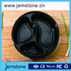 high quality black plastic food disposable container