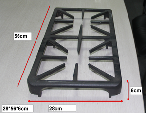 Gas cooker Enamelled Cast Iron Grid