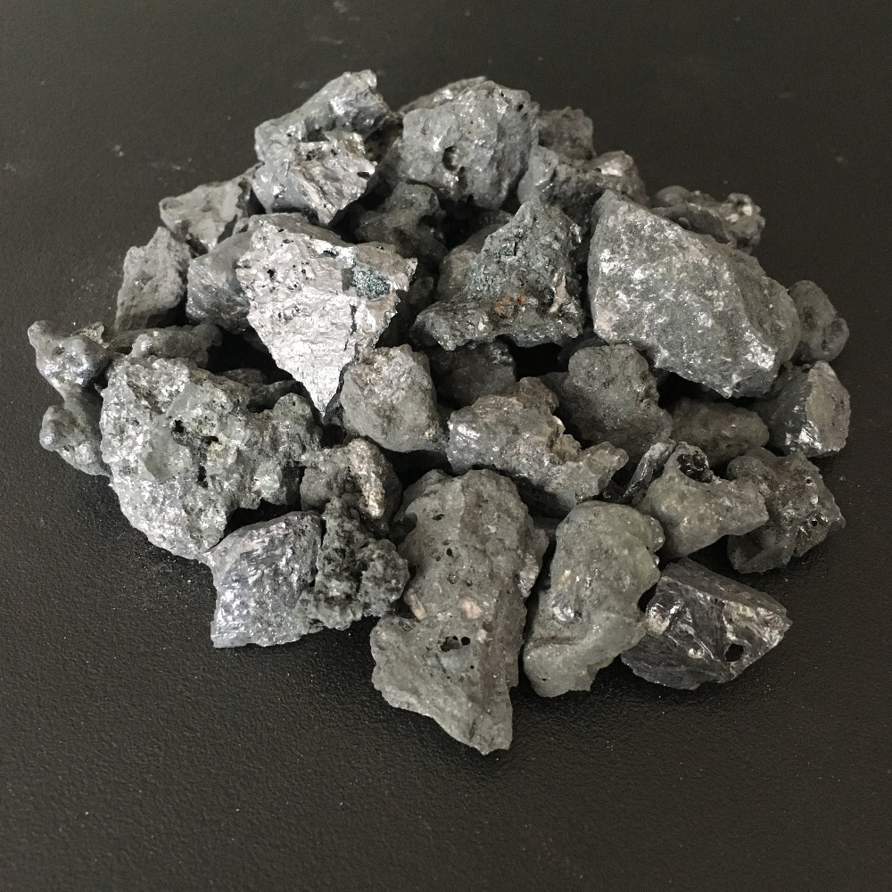 Metallurgical silicon metal slag