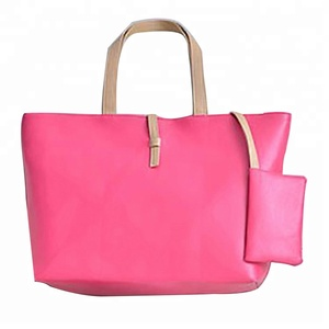Fashion PU Leather Women Lady Shopping Shoulder Bag Handbag
