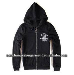2013 Men Hop Vintage Crow Heart Fleece Zipper Hooded Hoodies