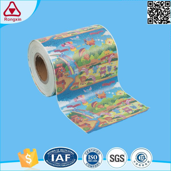 ISO9001 Adult diaper raw material soft magic side pp tape loops frontal tape