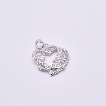 Fashion sterling silver 925 jewelry pave cz diamond 2017 mens heart fashion sterling silver 925 jewelry pave cz diamond 2017 mens heart charms and saudi gold jewelry aloadofball Image collections