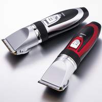 powerful motor electric hair and beard trimmer professional hair clipper for barber