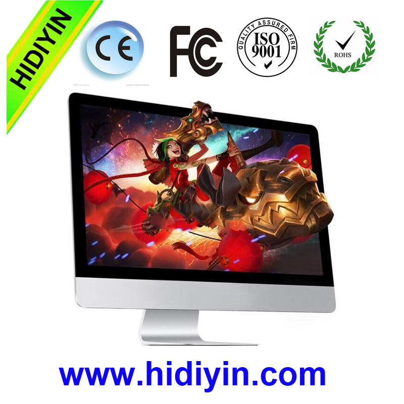18.5 inch quad core Intel i7 all-in-one PC 4GB sata 500G 1TB DDR3 all in one desktop laptop computer