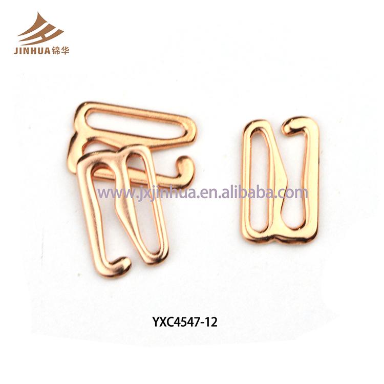 6abbeebf9 New Design de Moda Acessórios do Sutiã G forma Rose Gold Metal Gancho ...