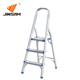 New height adjustment movable 3 steps narrow iron step ladder
