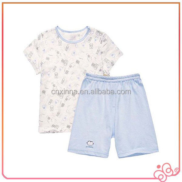 Best supplier 100%cotton animal printing Western summer kids pyjamas wholesale