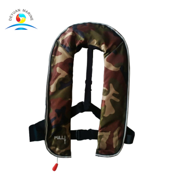 110N 150N 275N Manual Automatic Inflatable Life Jacket with solas life jacket for sale