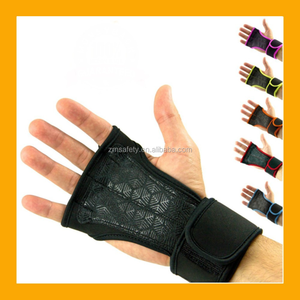 Neoprene Weight Lift Training Workout Gym Palm Exercise: Neoprene Weight Lifting Glove Type Barbell Grip Crossfit