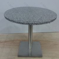 Reliable quality and beautiful quartz round table top resin table tops