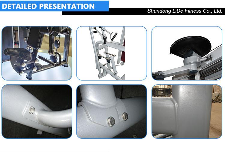 Equipamentos de musculação commerical equipamento de ginásio de Chest Press M7-1001