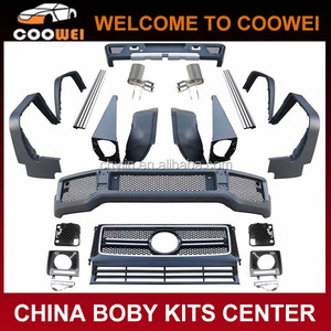2013 G-Class Restyling G65 Body Kit For Mercedes G65 G55 G500 W463 Body Kits