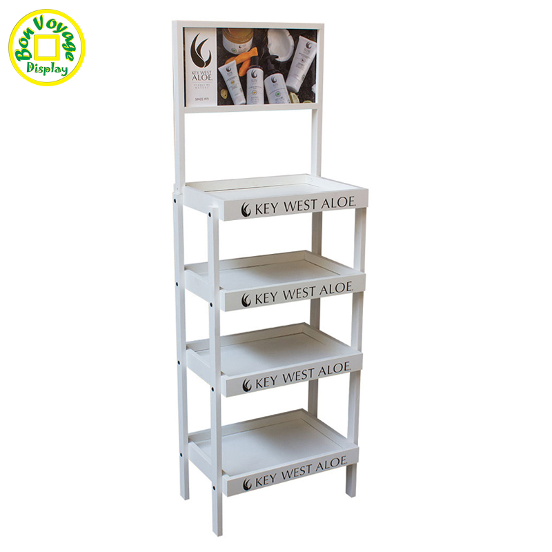 Small Metal Wire Counter Display Rack With Hooks - Buy Counter ...