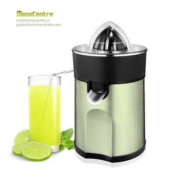 High quality Home use Electric Orange and lemon Citrus Juicer Stainless steel 85W