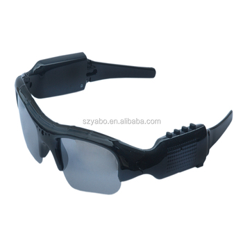 26bd623099 Mini cámara oculta HD 1080 p grabadora de Video Gafas de sol con MP3 Player  Bluetooth