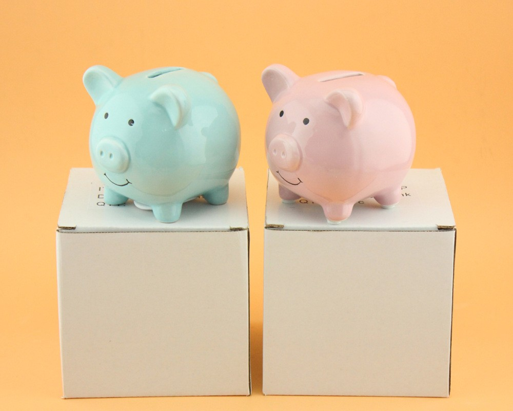 Unique Piggy Banks For Kids Ceramic Unicorn Bank