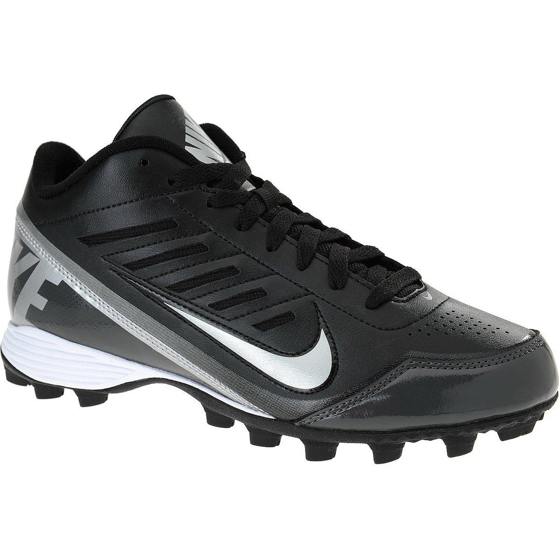 7e34345e7ea Buy Nike Boys GS Land Shark 3 4 Football Cleats-Black White in Cheap ...