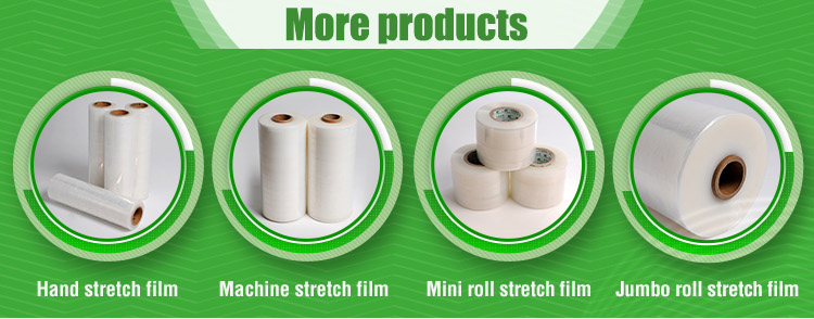 strechfolie 10 Rolls Mini Strech Packaging Film Transparent 20my 100mmx150lfm.