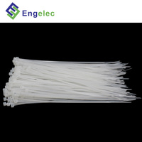 Self locking cable tie white black multi color brand new material nylon 66 plastic strip lock nylon cable tie