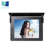 2019 popular taxi advertising led display 15 inch digital signage solution lcd screens for cars