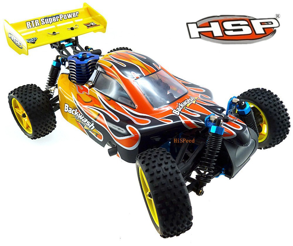 hsp 94166 rc car 1 10 scale 4wd off road buggy backwach nitro gas automodelismo nitro rc p1 in. Black Bedroom Furniture Sets. Home Design Ideas