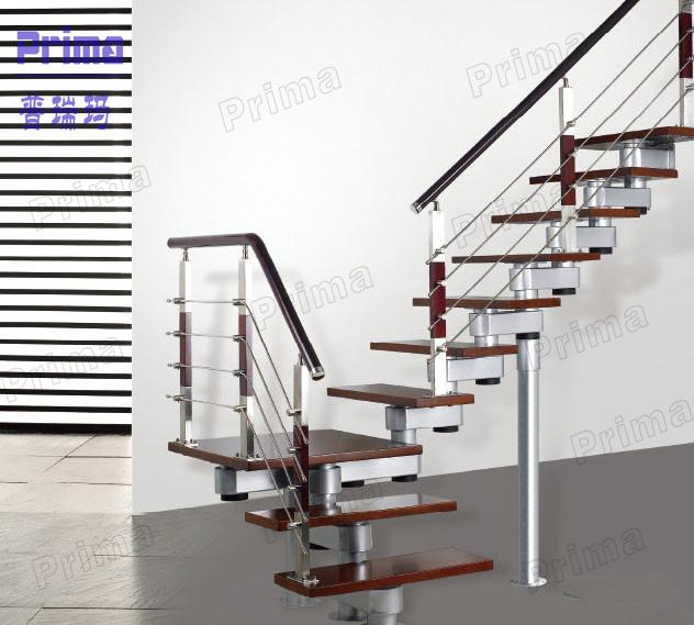 Villa Stairs Design Indoor Steel Wood Staircase Buy Steel Wood