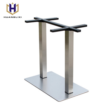 Metal two seats table base stronger table legstainless steel table metal two seats table base stronger table legstainless steel table frame metal legs manufacturers watchthetrailerfo