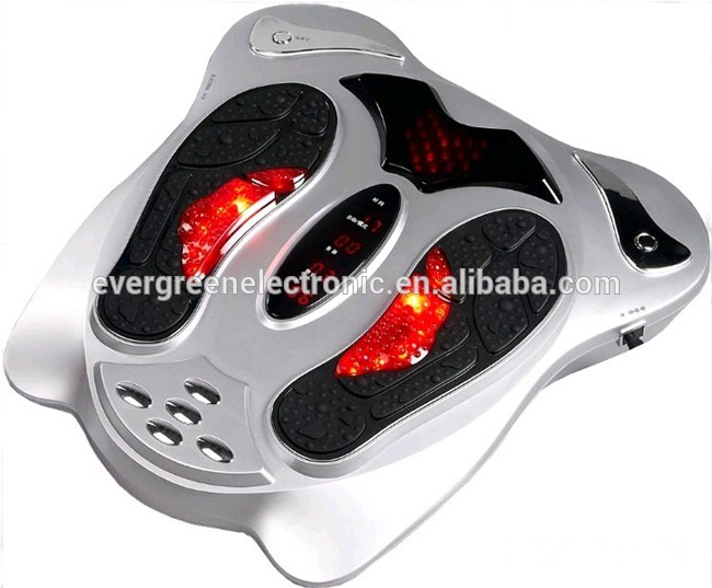 infrared blood circulating infrared reflexology foot massager foot relaxation device as seen on TV EG-FM02