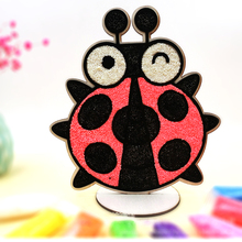 High quality cheap custom paint designs include DIY accessories Snow putty kids drawing board