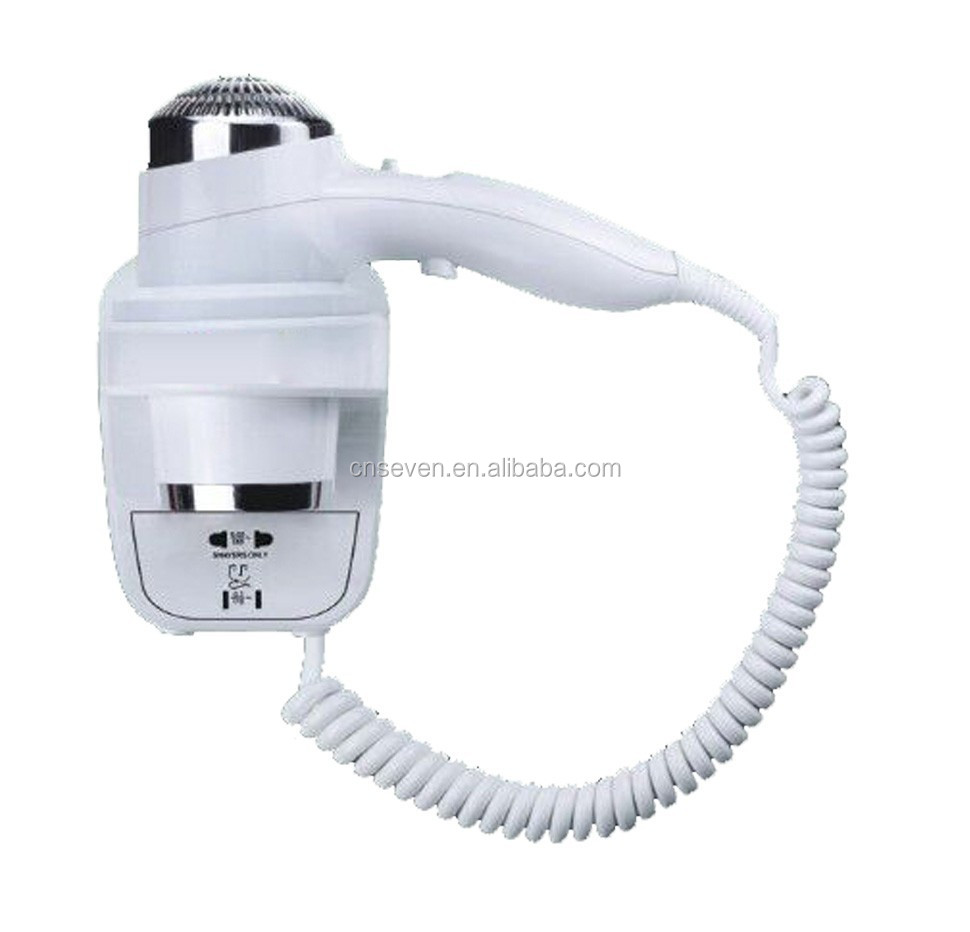 2015 new hotel 2200W wall mounted hair dryers
