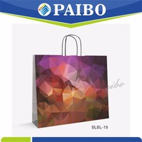 BLBL-19 China factory christmas crafts paper bag for clothing