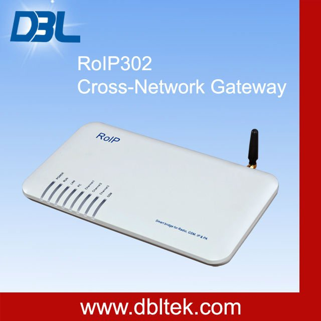 RoIP/ Radio over IP network/Cross-Network gateway/radio repeater(RoIP-102/RoIP-302/RoIP-302M)