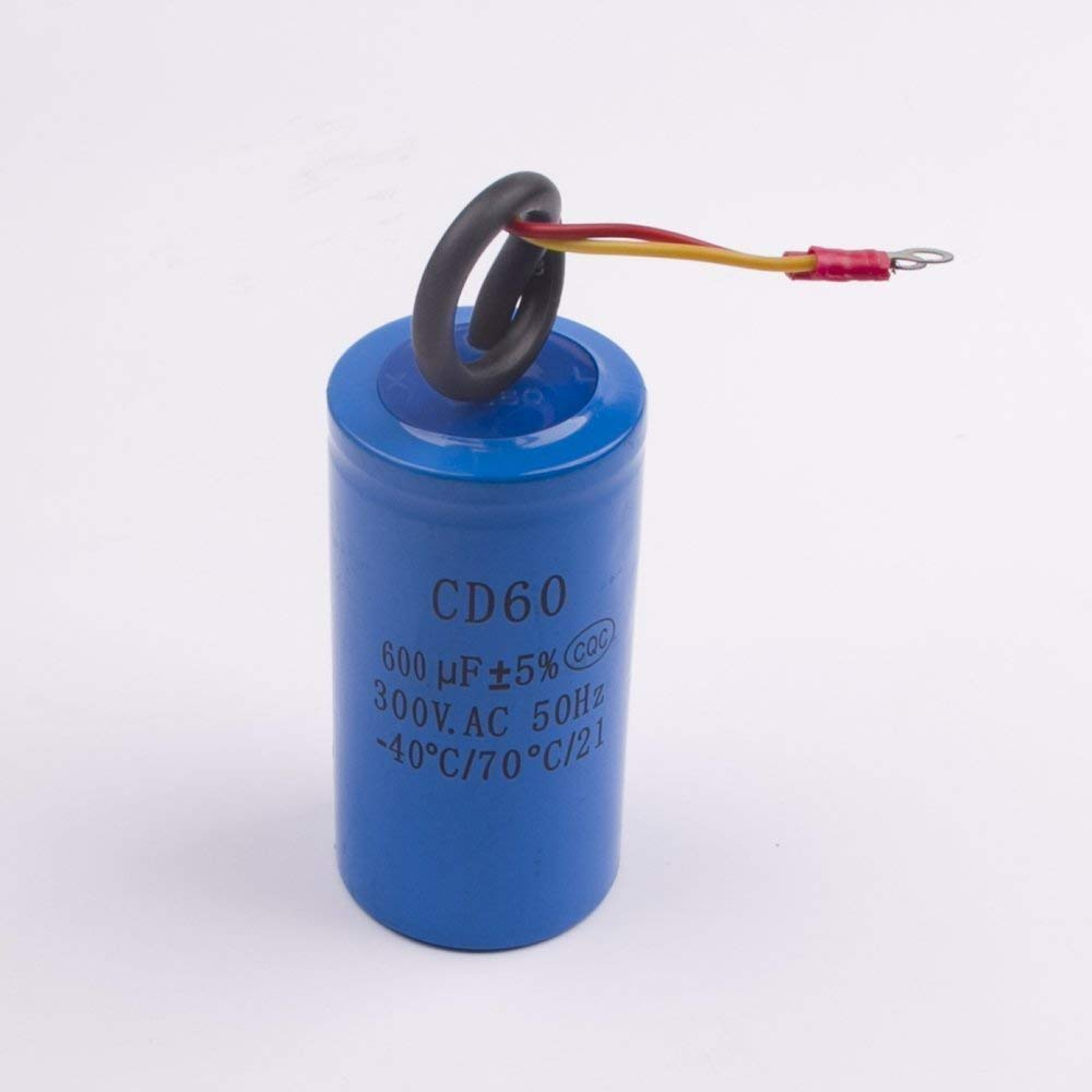 Cheap Electric Motor Capacitor Start Find Permanent Split Run Ac Induction Get Quotations Staring 2 Wires Cd60 300v 600uf Heavy Duty Starting