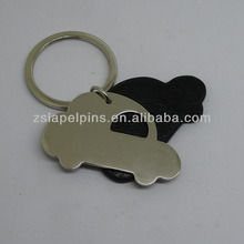 car shape leather key tag promotional key tags metal key tags